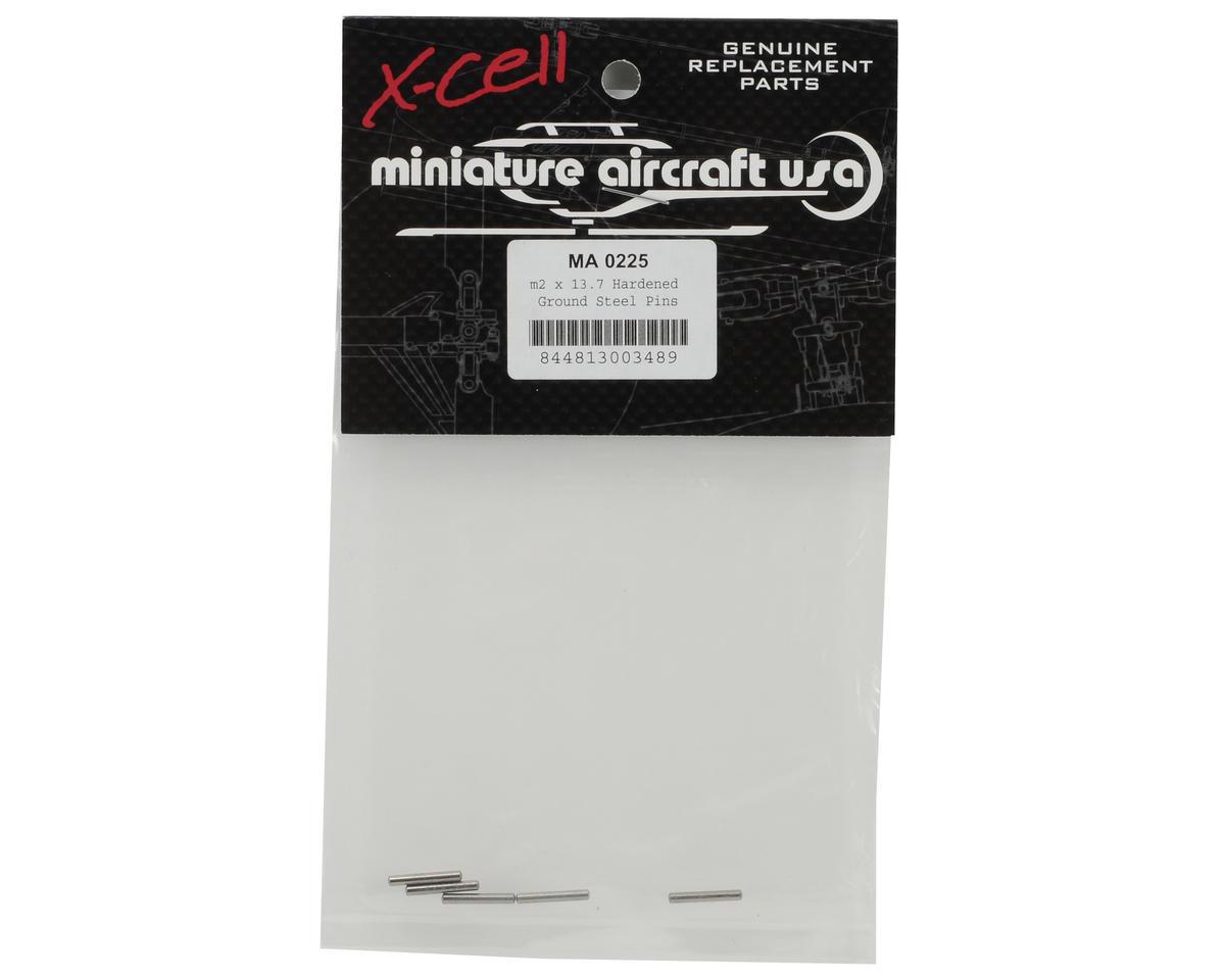 Miniature Aircraft 2x13.7mm Hardened Steel Dowel Pin (5)