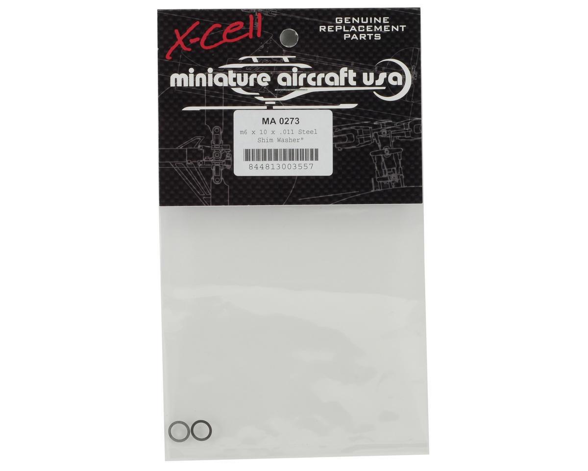 """Miniature Aircraft 6x10x.011"""" Steel Washer (2)"""