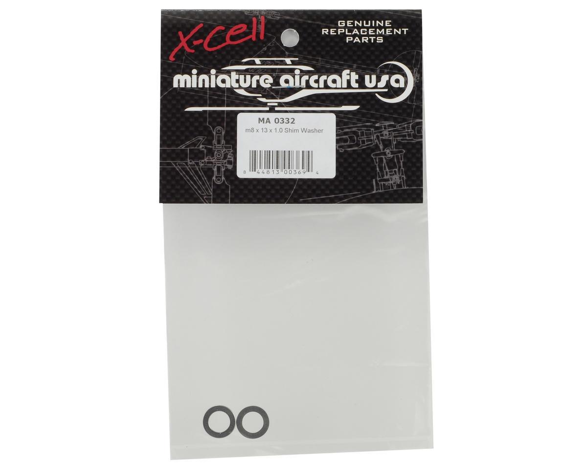 Miniature Aircraft 8x13x1.0mm Shim Washer (2)