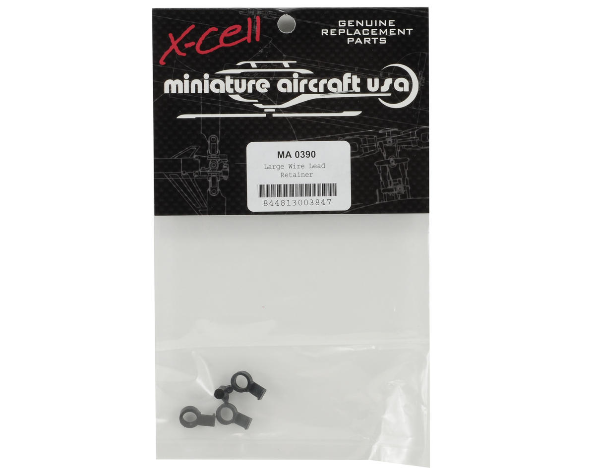Miniature Aircraft Large Push On Wire Lead Retainer (3)