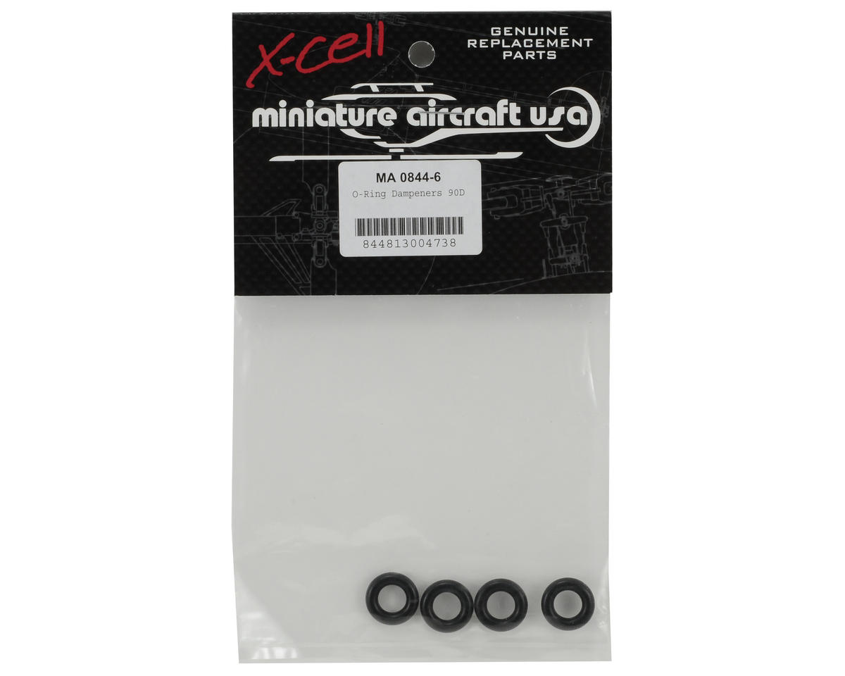 Miniature Aircraft 90 Durometer O-Ring Damper Set (4)