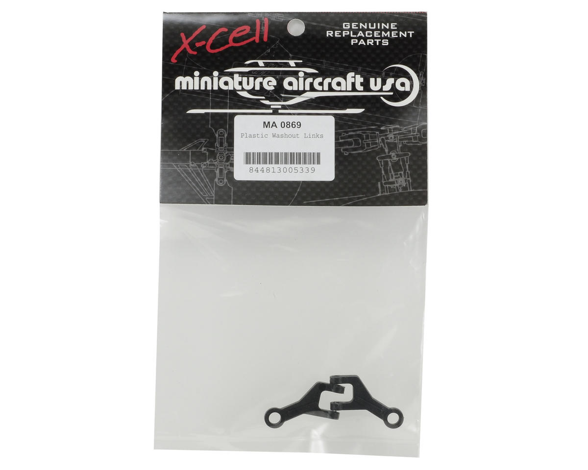 Miniature Aircraft Plastic Washout Link Set (2)