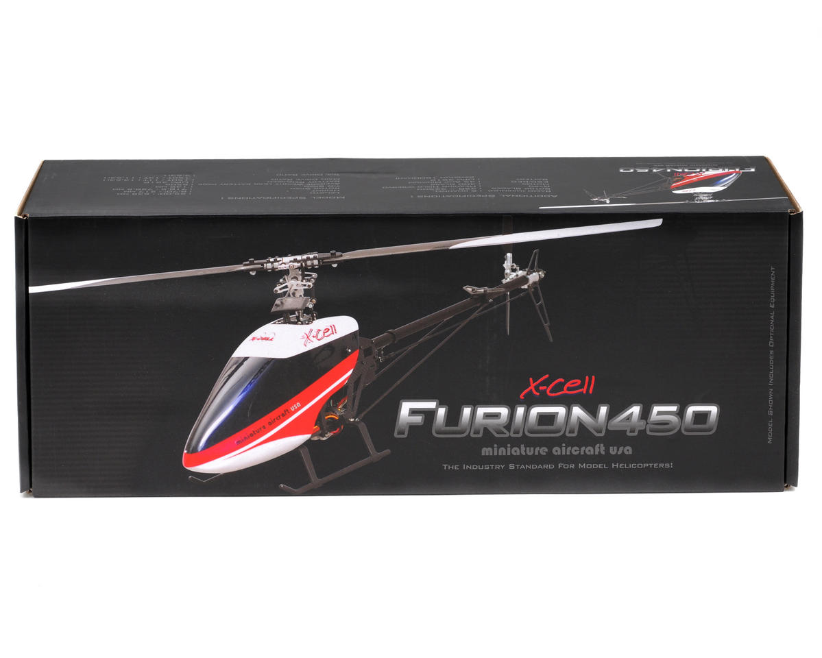 Miniature Aircraft X-Cell Furion 450 Electric Helicopter Kit