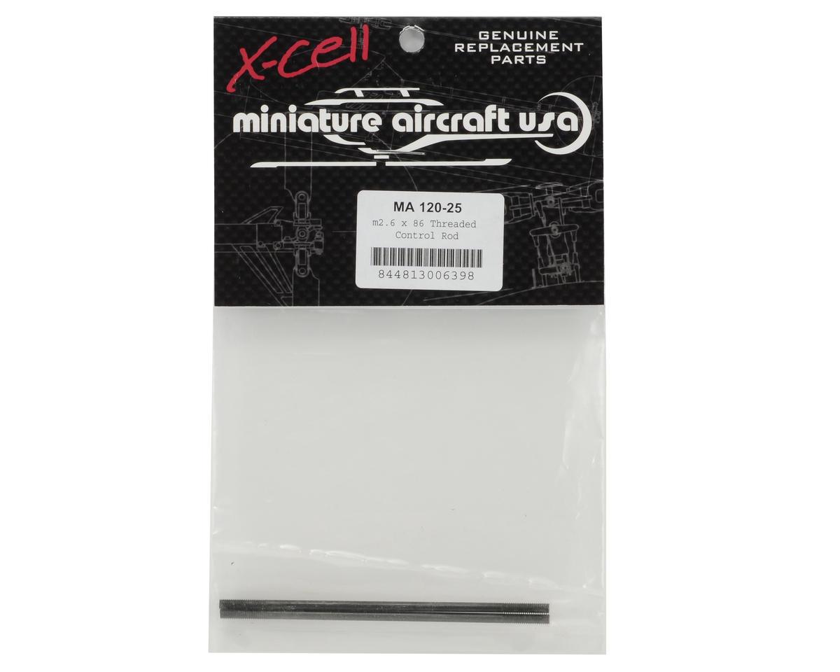 Miniature Aircraft 2.6x86mm Threaded Control Rod Set (2)