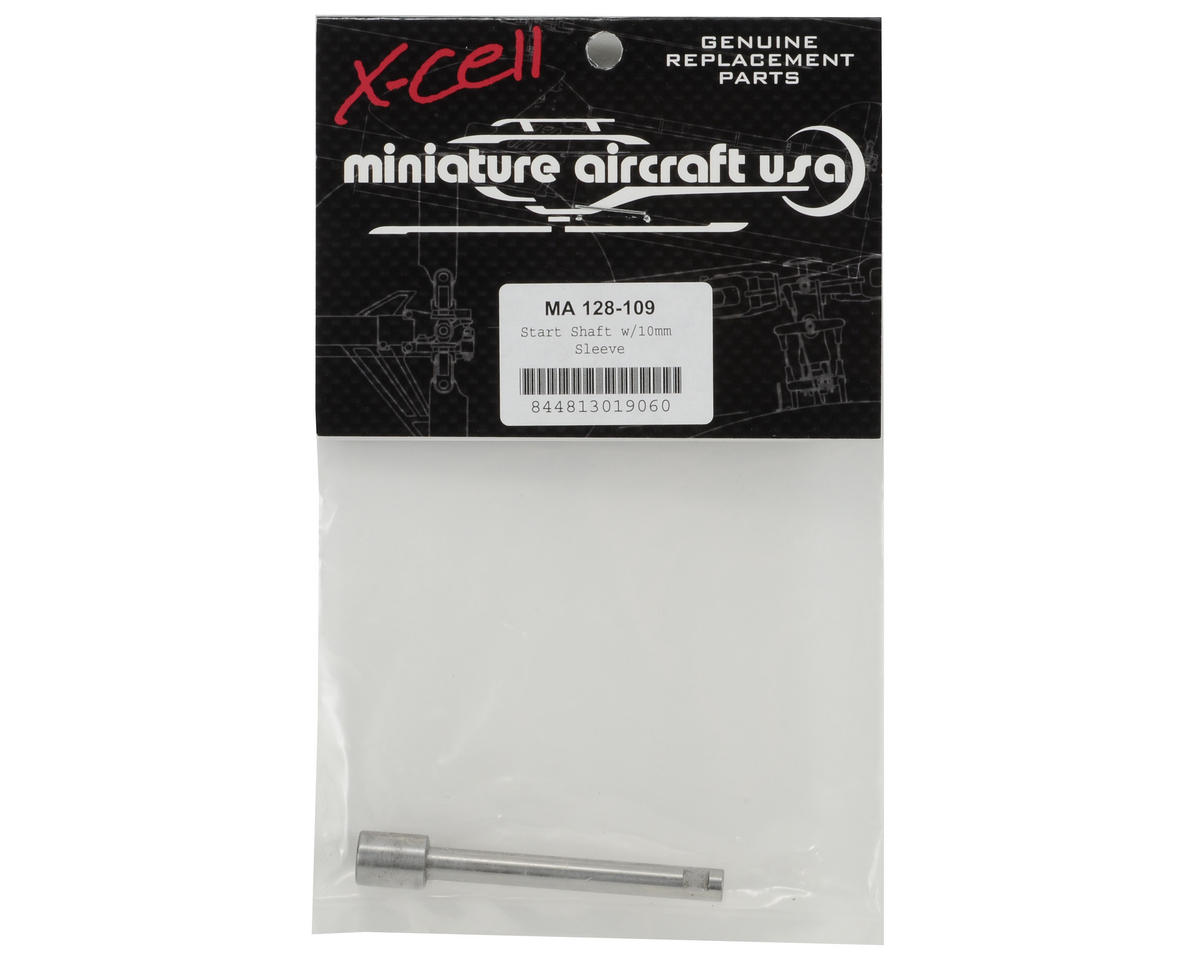 Miniature Aircraft Start Shaft w/10mm Sleeve