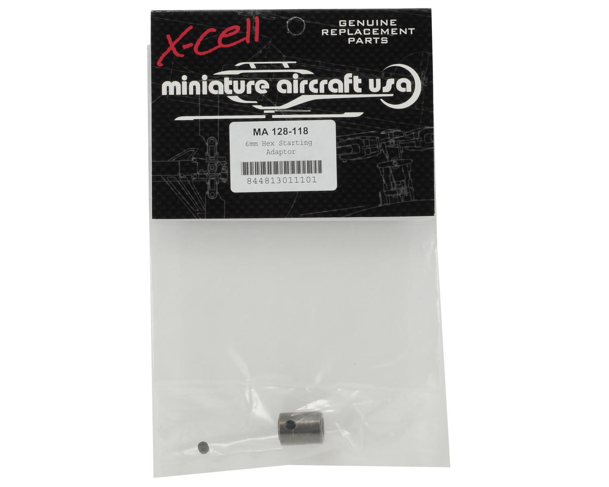 Miniature Aircraft 6mm Hex Starting Adaptor
