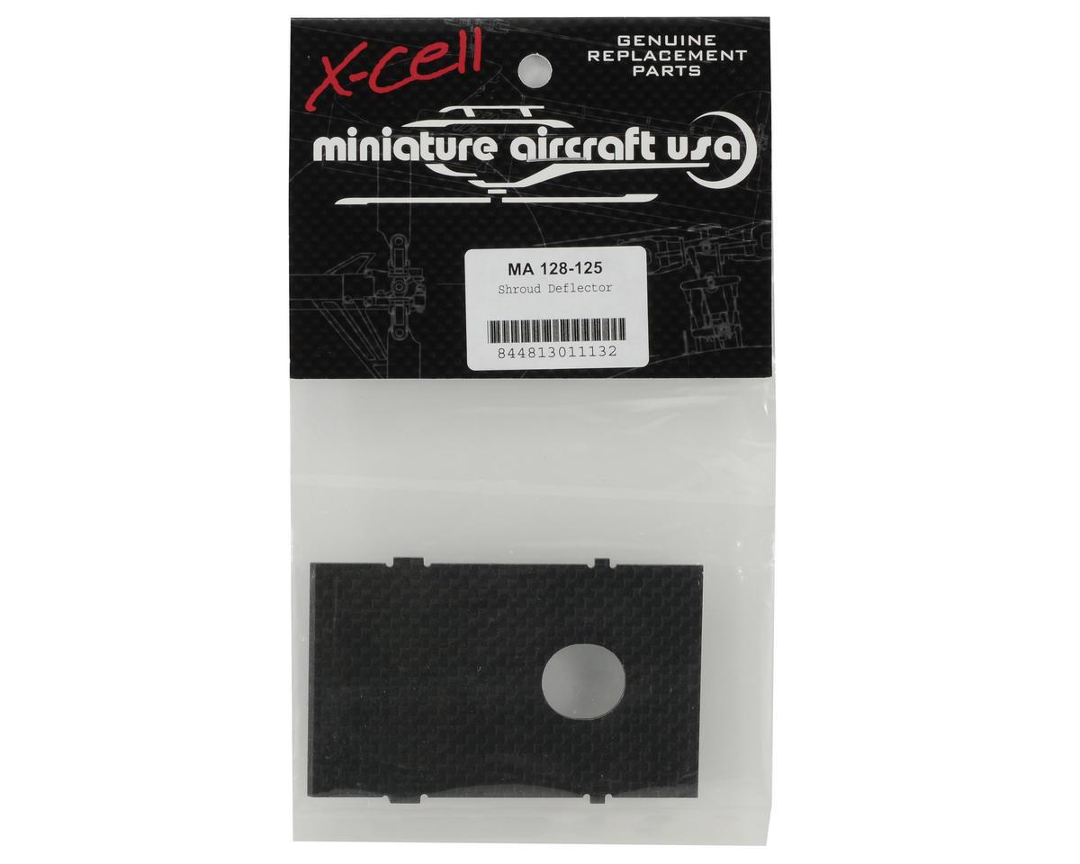 Miniature Aircraft Carbon Fiber Shroud Deflector