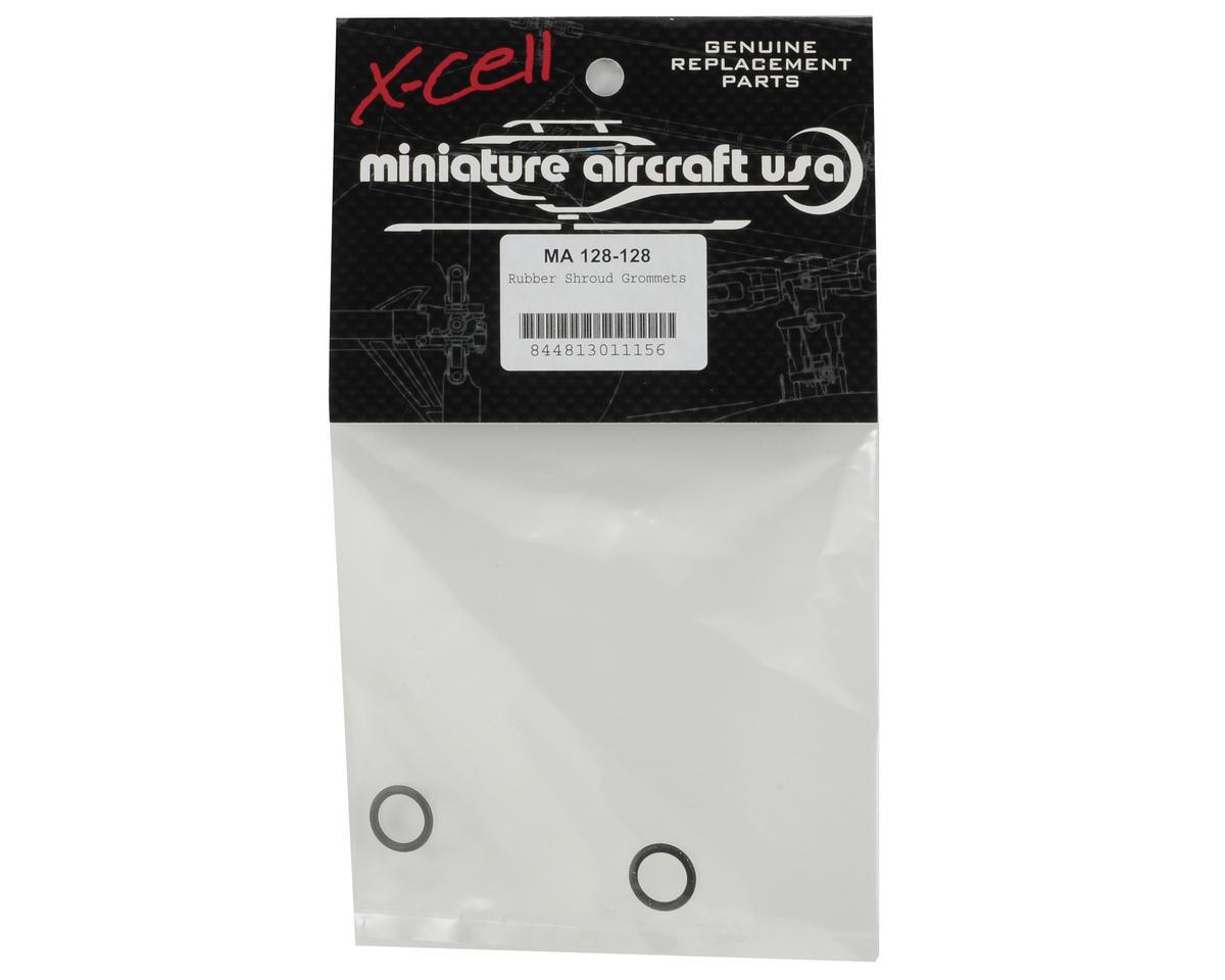 Miniature Aircraft Rubber Shroud Grommet (2)