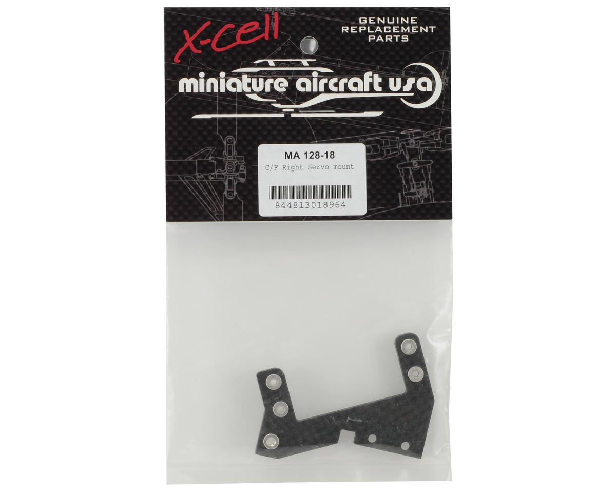Miniature Aircraft Carbon Fiber Servo Mount (Right)