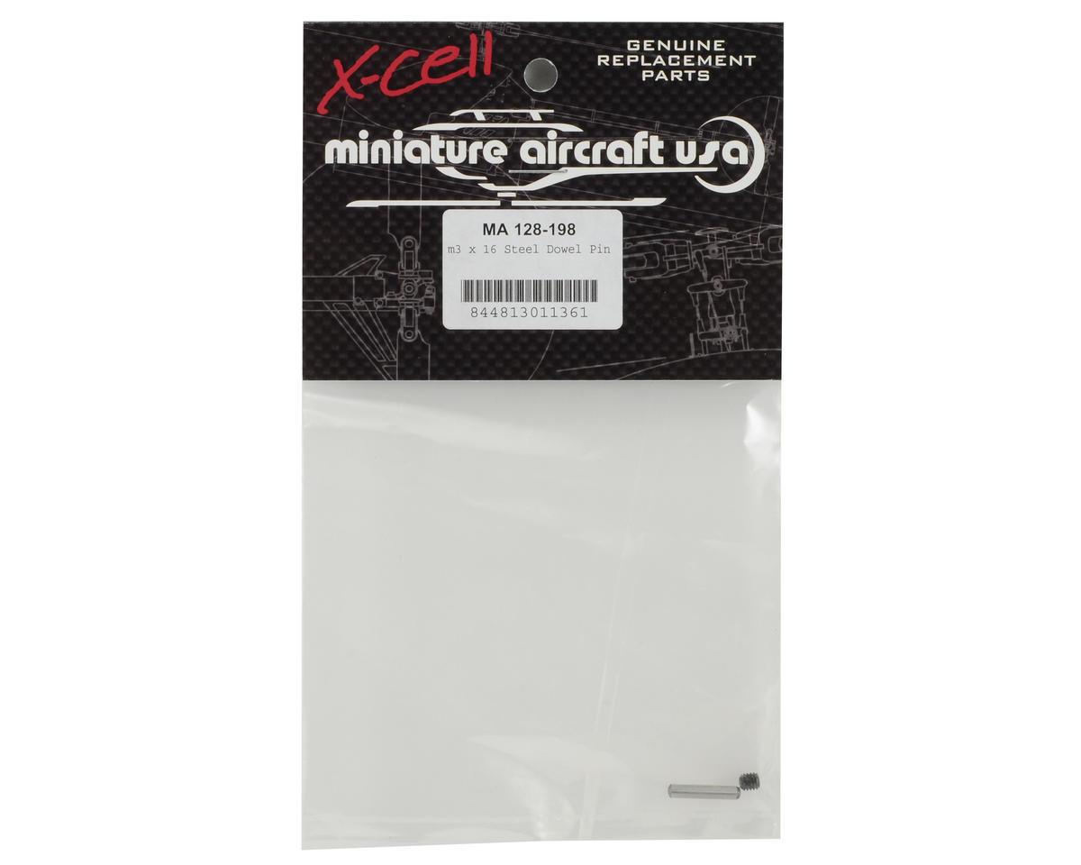 Miniature Aircraft 3x16mm Steel Dowel Pin