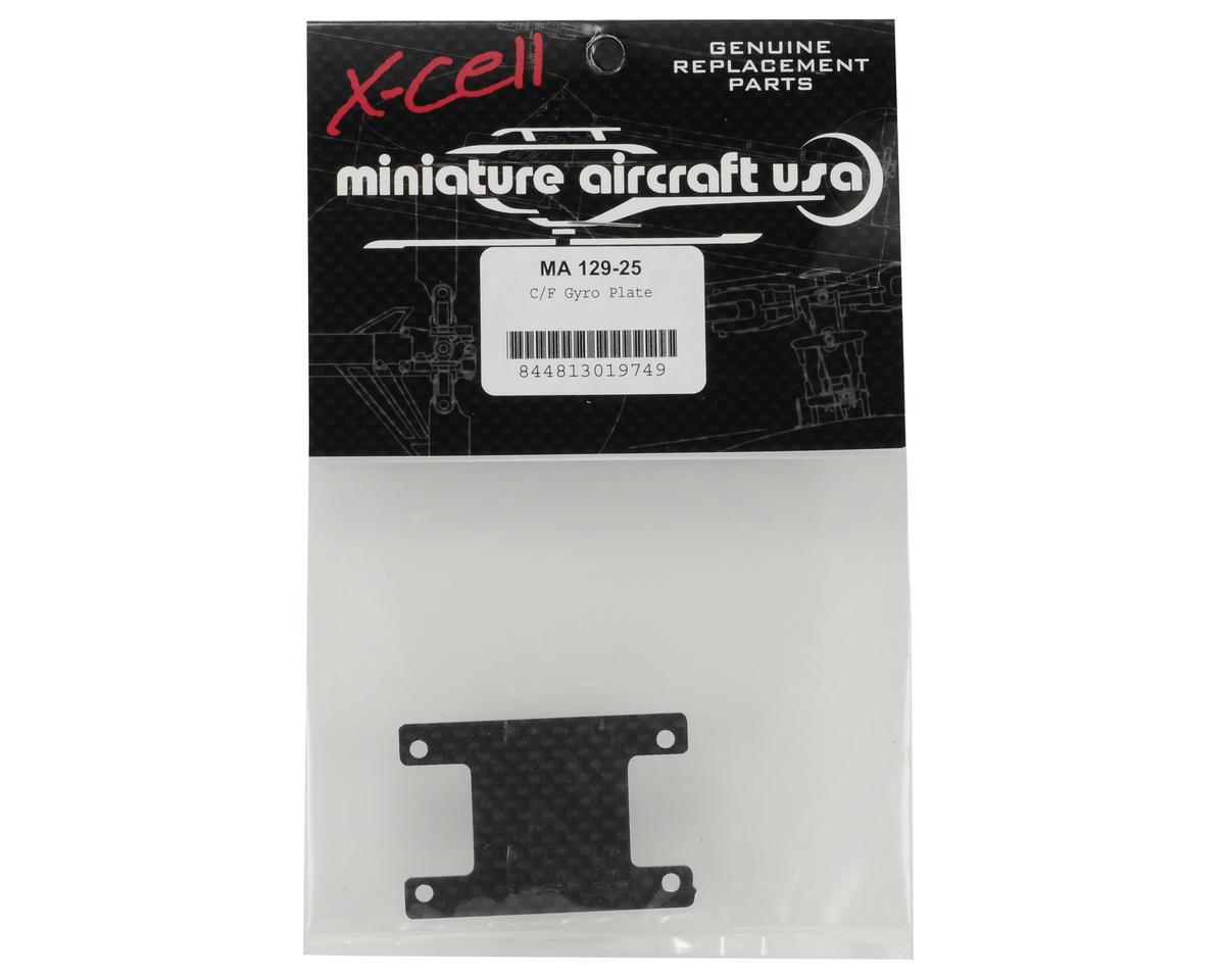 "Miniature Aircraft .062"" Carbon Fiber Gyro Plate"
