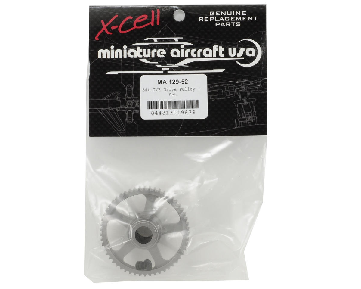 Miniature Aircraft 54T Tail Rotor Drive Pulley