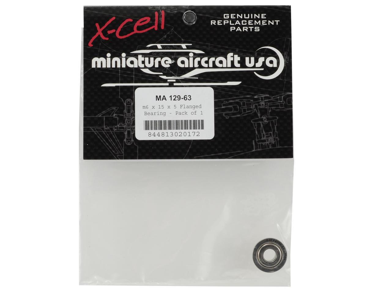 Miniature Aircraft F696zz 6x15x5mm Flanged Bearing