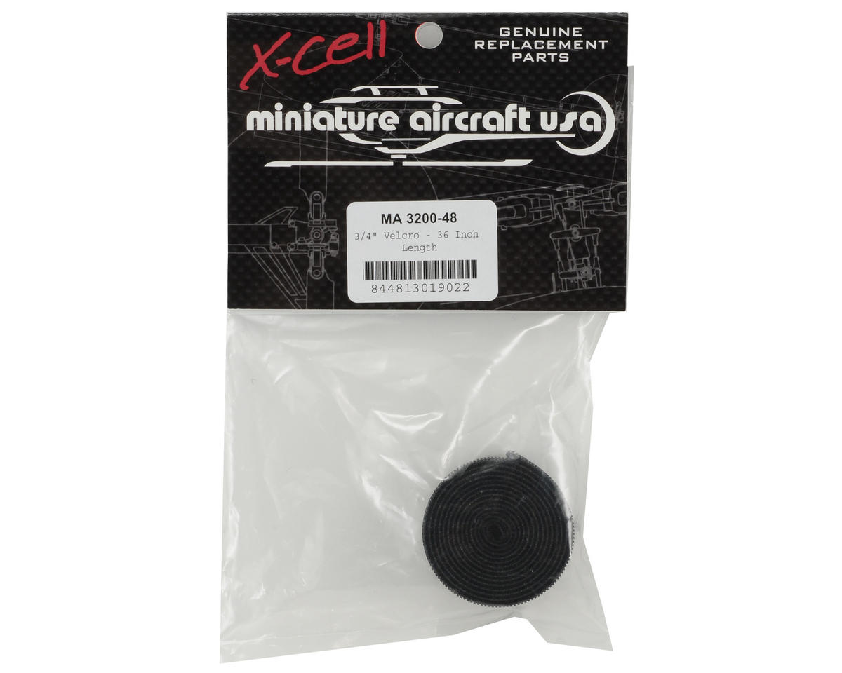 "Miniature Aircraft 3/4"" x 15"" Hook & Loop Tape"