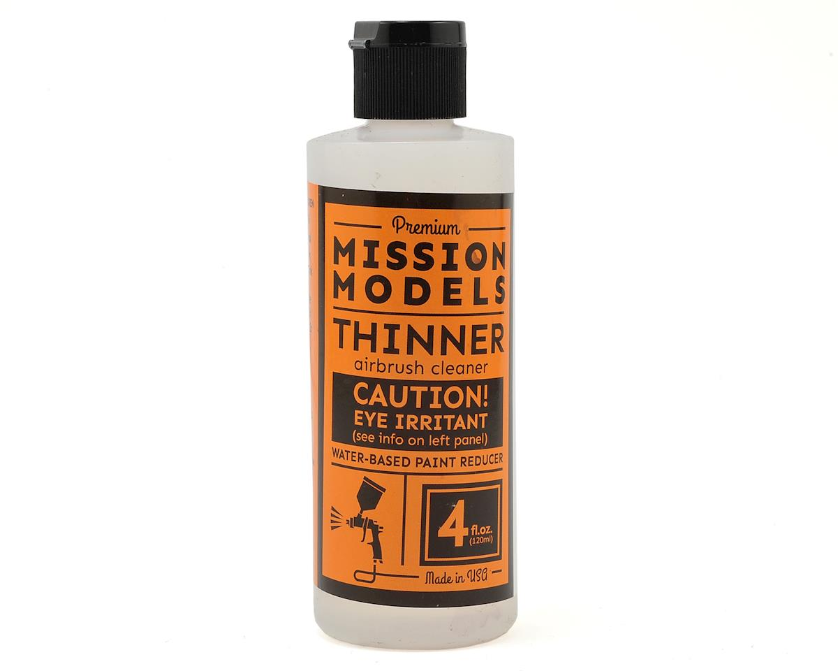 Acrylic Thinner/Reducer (4oz) by Mission Models