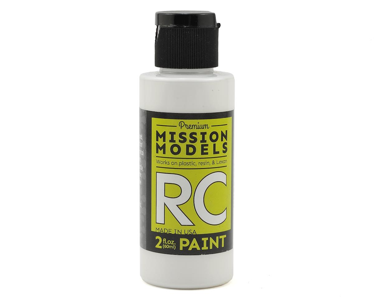 White Acrylic Lexan Body Paint (2oz) by Mission Models