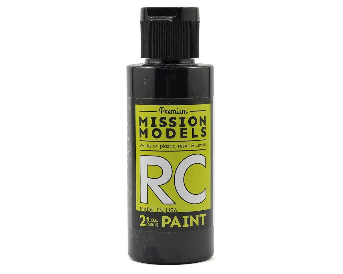 Mission Models Black Acrylic Lexan Body Paint (2oz)