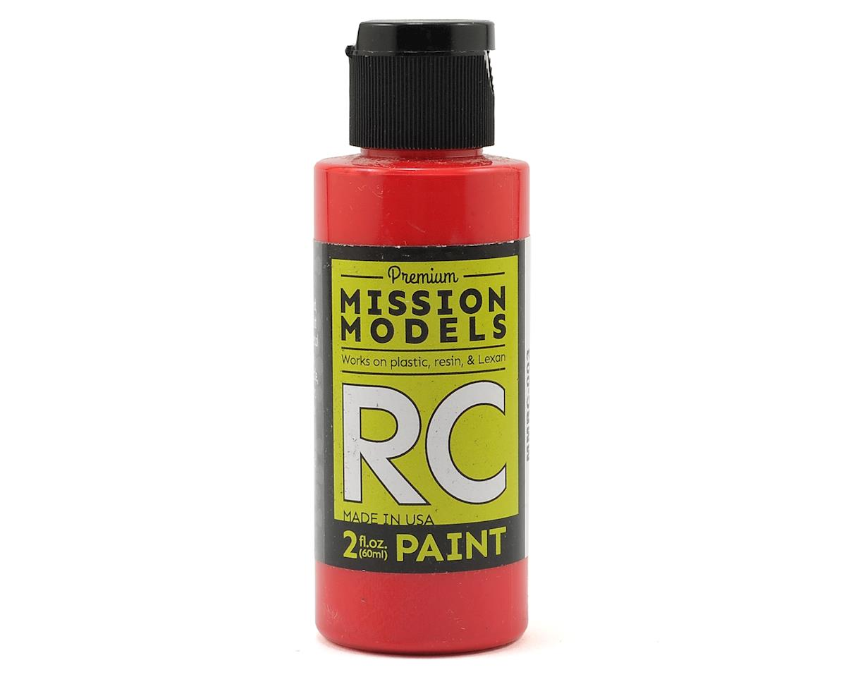 Mission Models Red Acrylic Lexan Body Paint (2oz)