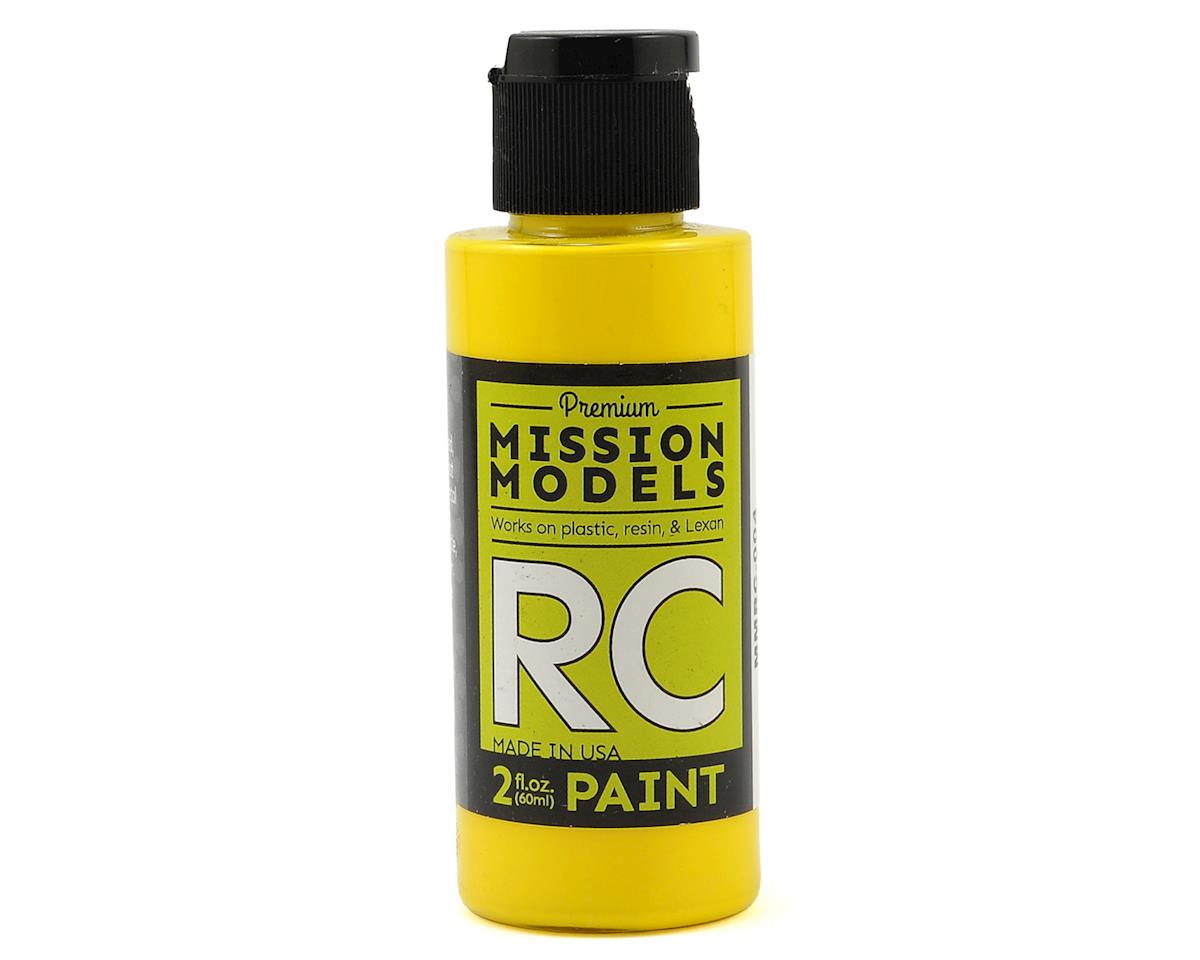 Yellow Acrylic Lexan Body Paint (2oz) by Mission Models
