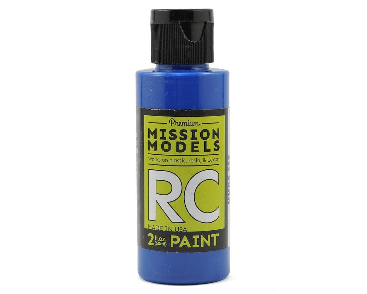 Mission Models Blue Acrylic Lexan Body Paint (2oz)