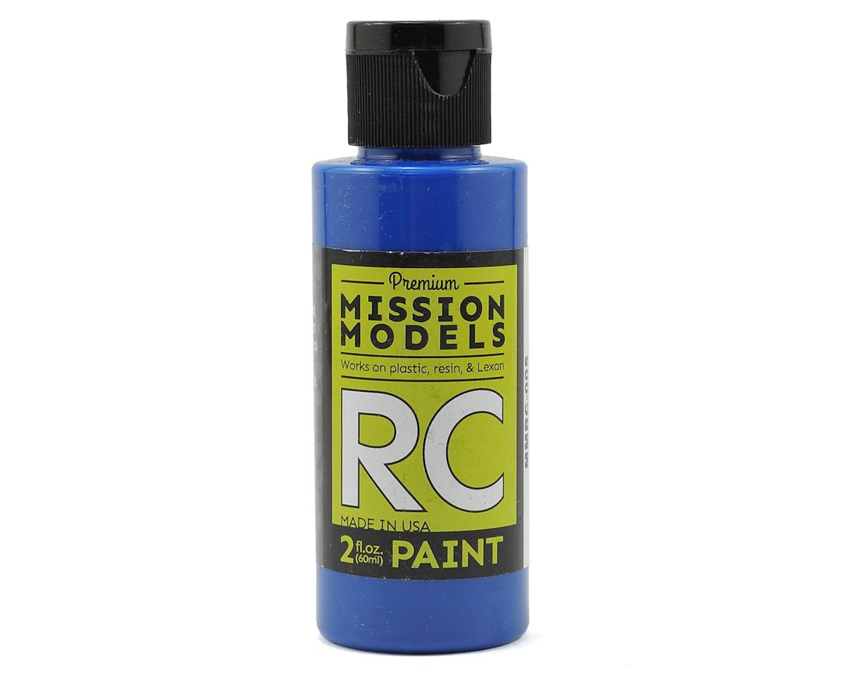 Blue Acrylic Lexan Body Paint (2oz) by Mission Models