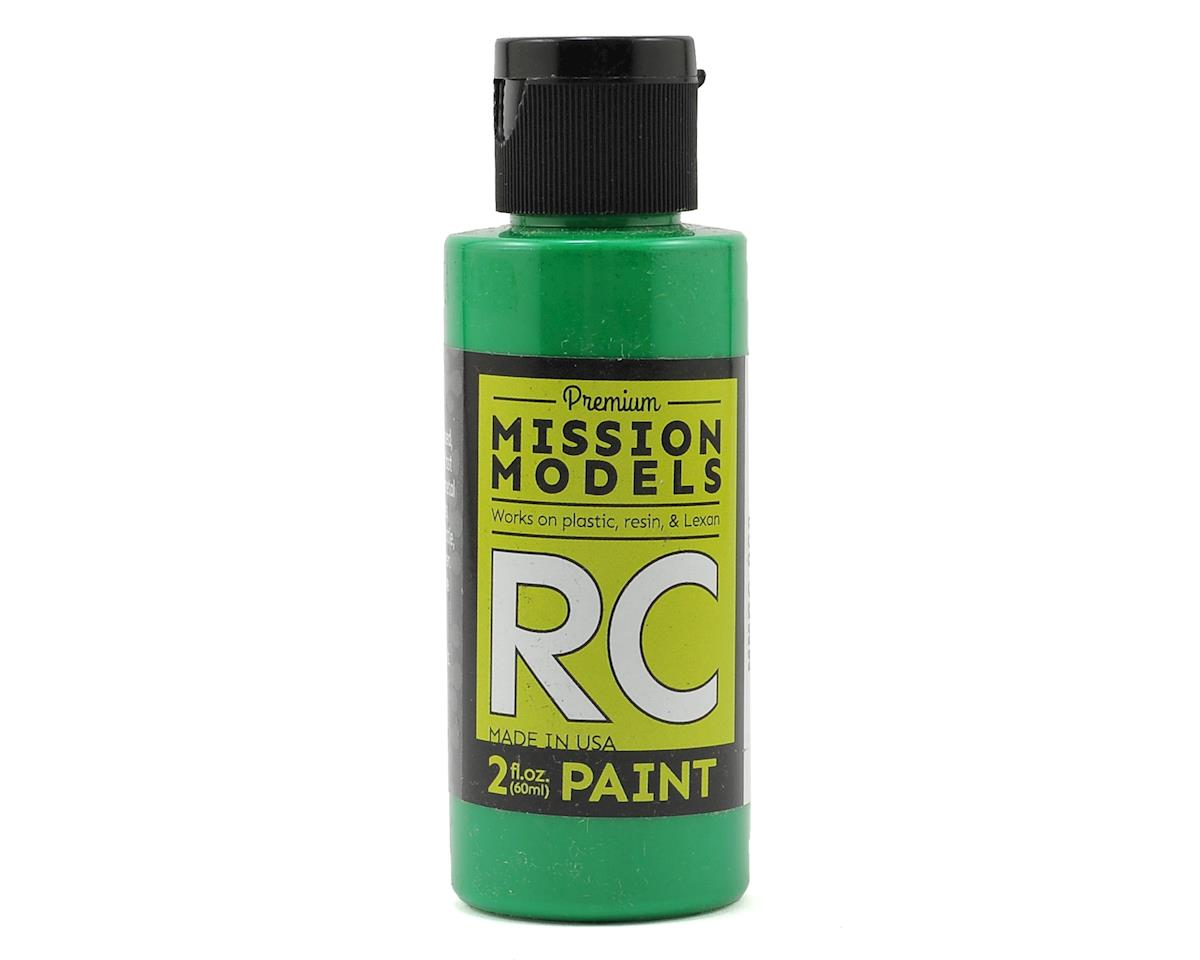 Mission Models Green Acrylic Lexan Body Paint (2oz)