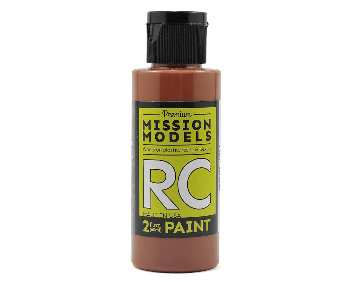 Brown Acrylic Lexan Body Paint (2oz) by Mission Models