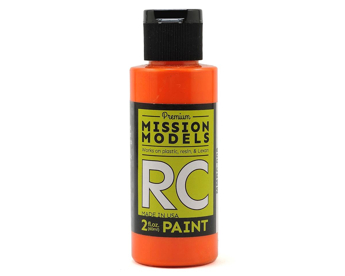 Orange Acrylic Lexan Body Paint (2oz) by Mission Models