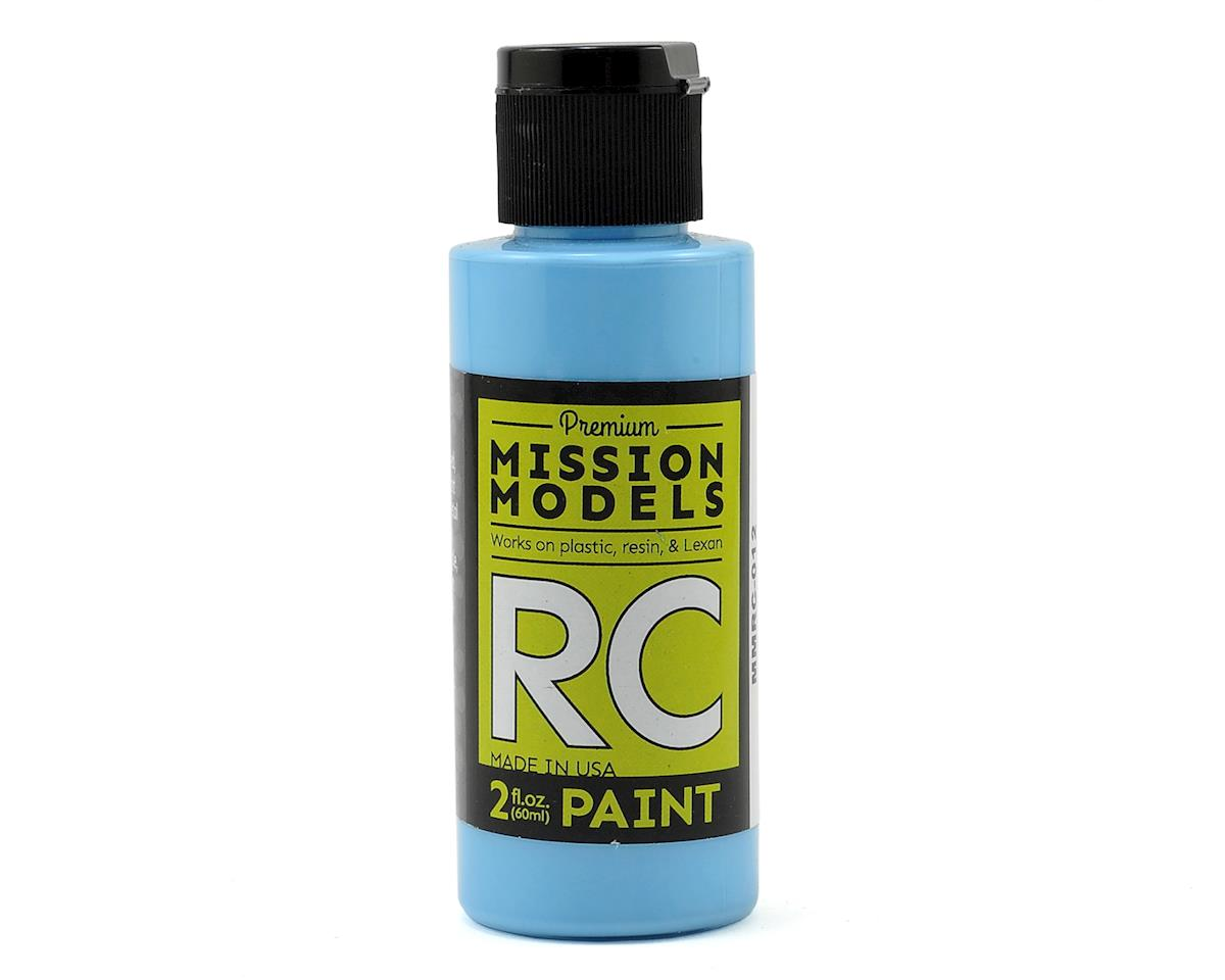 Sky Blue Acrylic Lexan Body Paint (2oz) by Mission Models