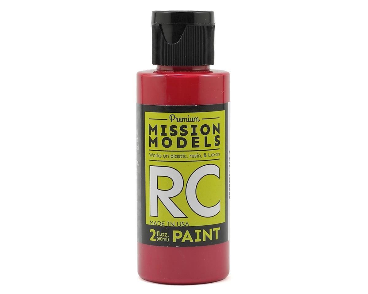 Burgundy Acrylic Lexan Body Paint (2oz) by Mission Models