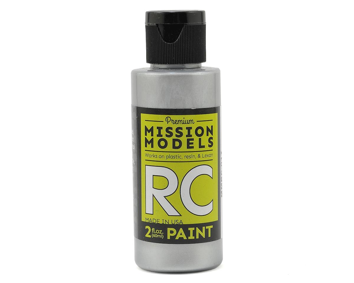 Racing Silver Acrylic Lexan Body Paint (2oz) by Mission Models