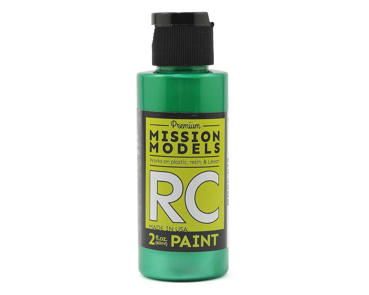 Pearl Green Acrylic Lexan Body Paint (2oz) by Mission Models