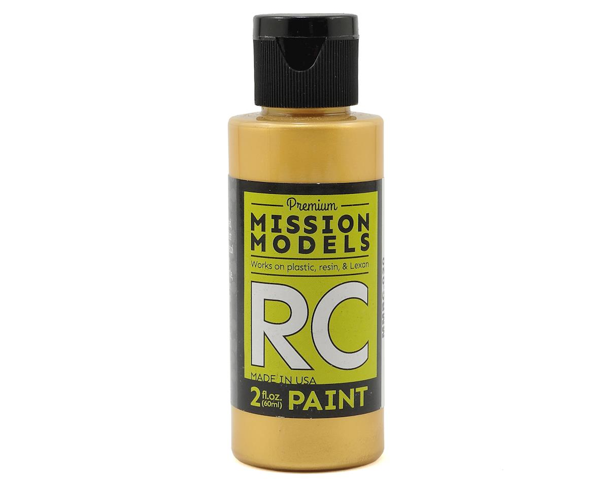 Pearl Gold Acrylic Lexan Body Paint (2oz) by Mission Models