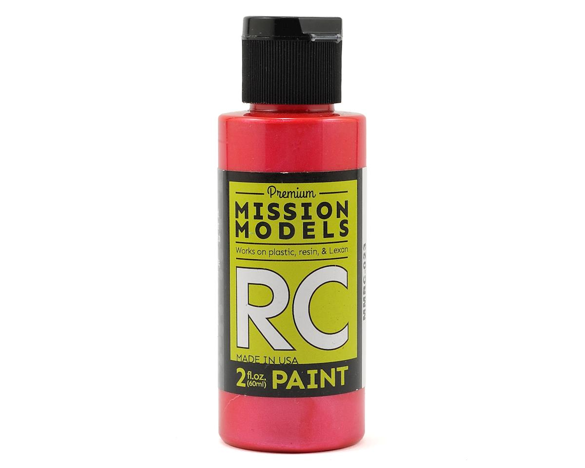 Mission Models Pearl Red Acrylic Lexan Body Paint (2oz)