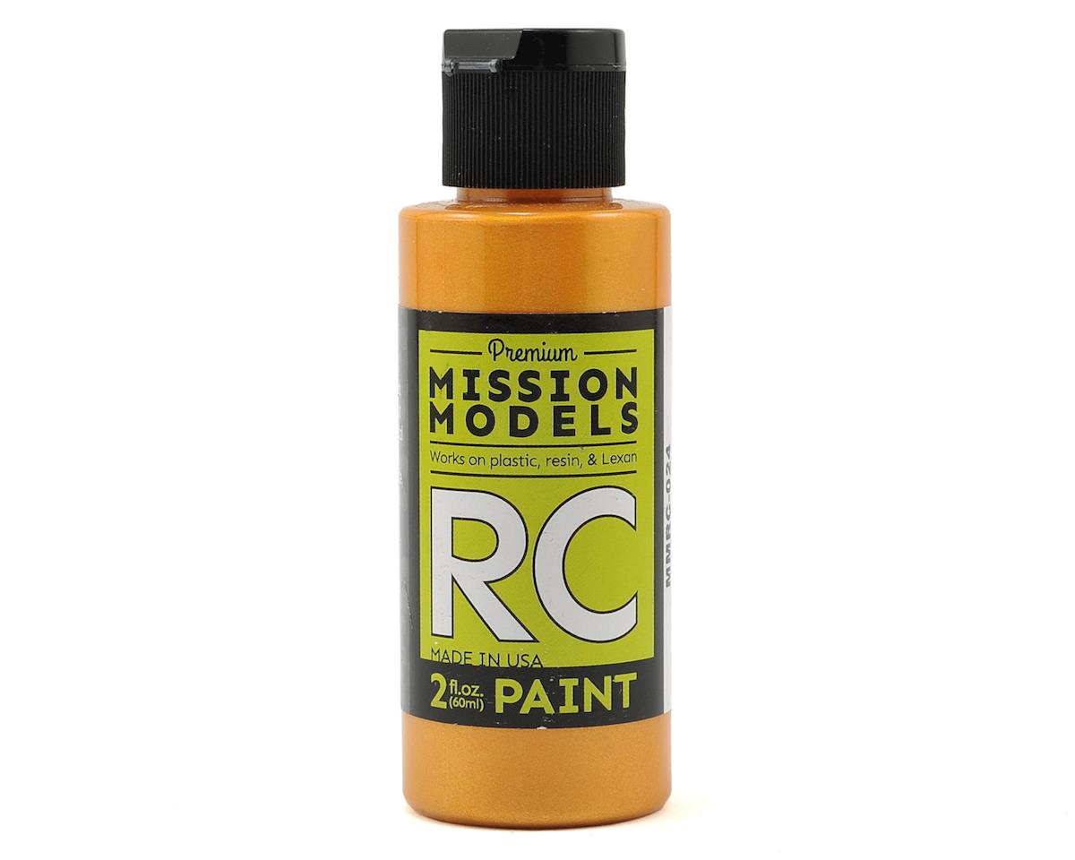 Pearl Copper Acrylic Lexan Body Paint (2oz) by Mission Models