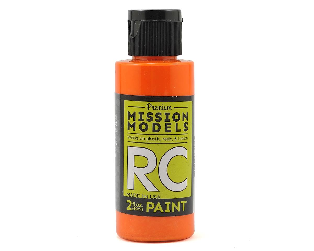 Pearl Orange Acrylic Lexan Body Paint (2oz) by Mission Models