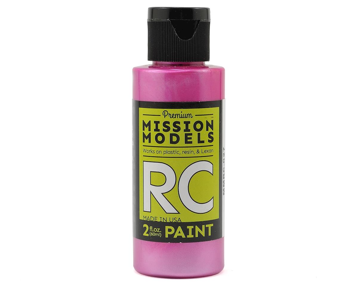Pearl Berry Acrylic Lexan Body Paint (2oz) by Mission Models
