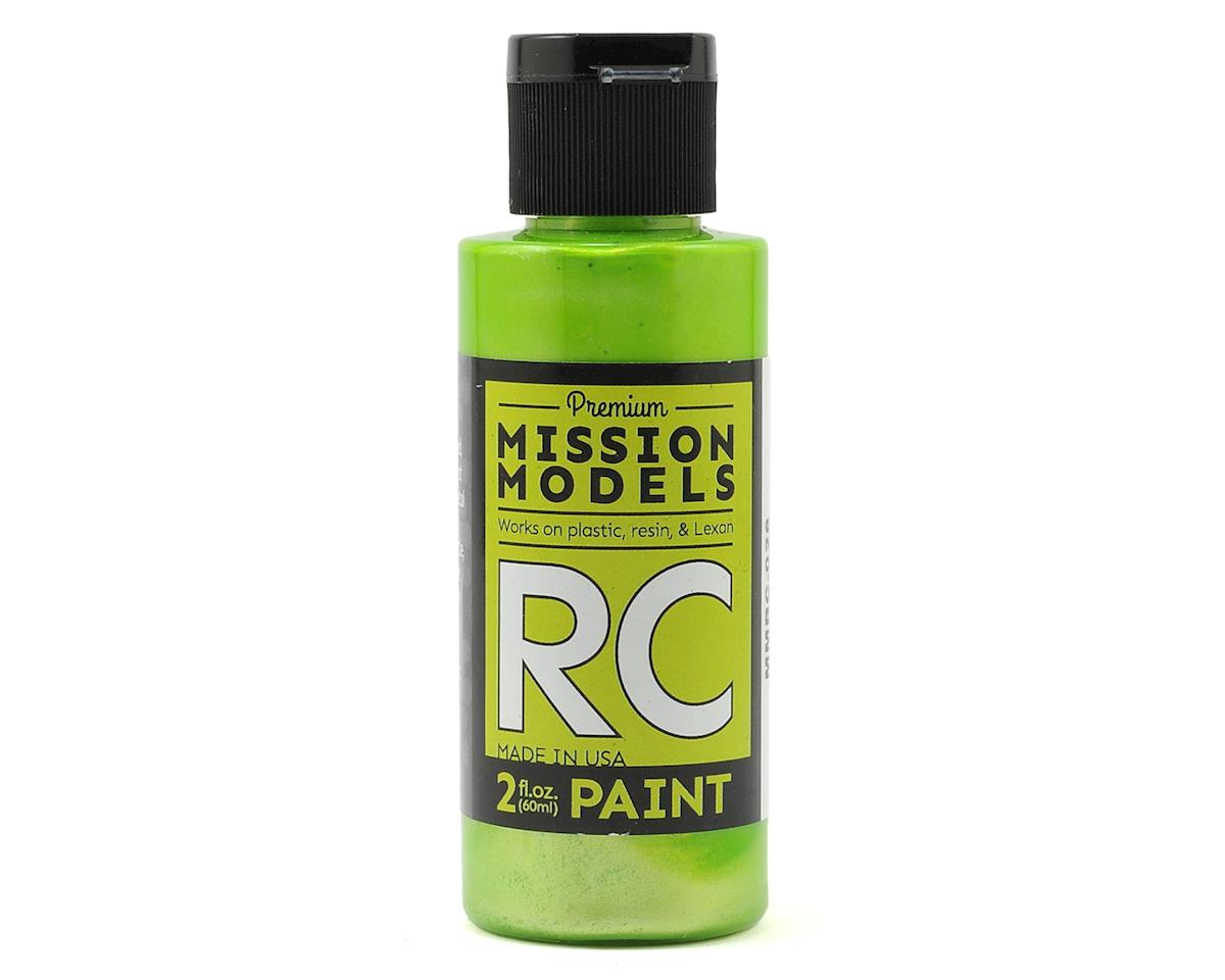 Mission Models Pearl Lime Acrylic Lexan Body Paint (2oz)