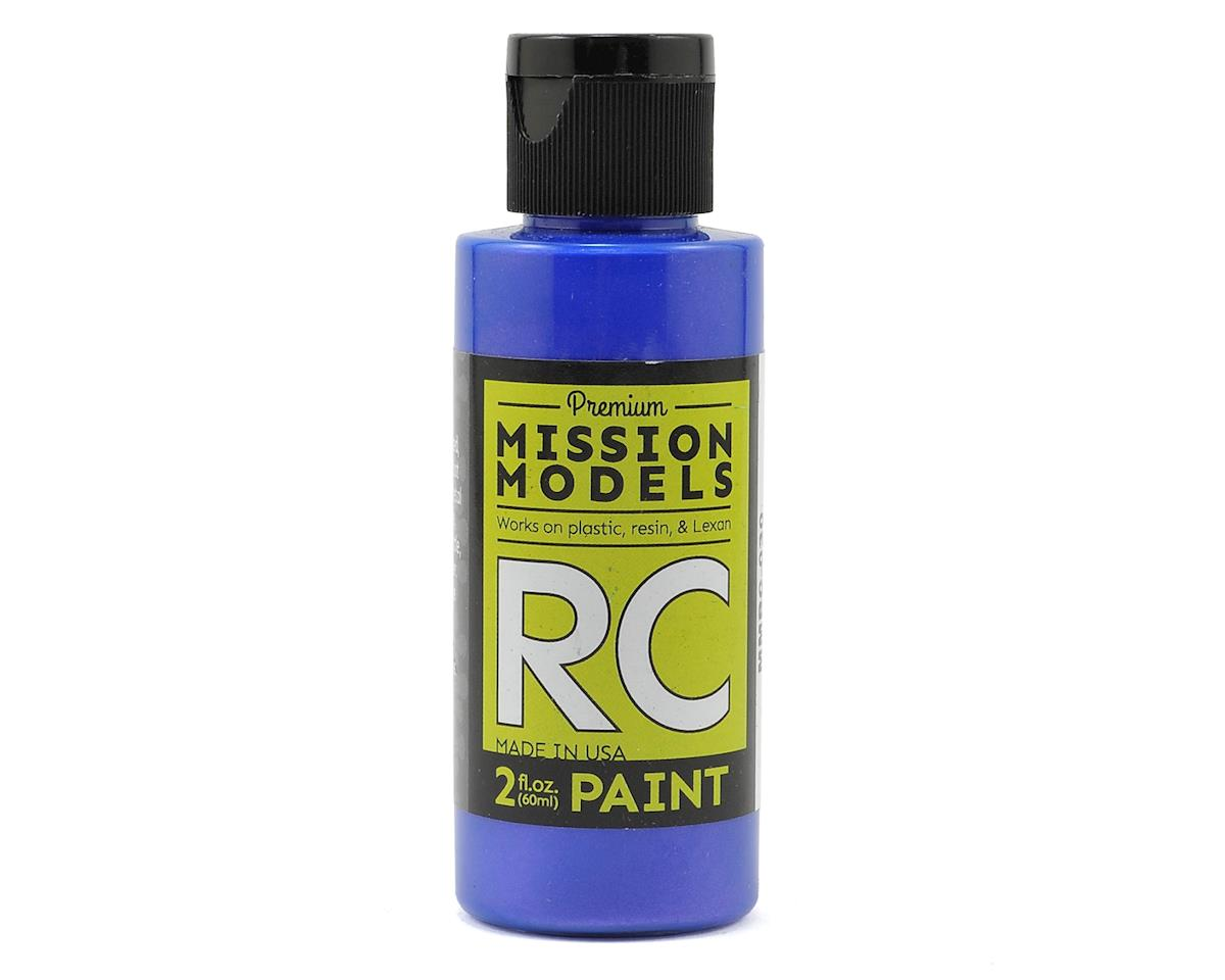 Irdescent Blue Acrylic Lexan Body Paint (2oz) by Mission Models