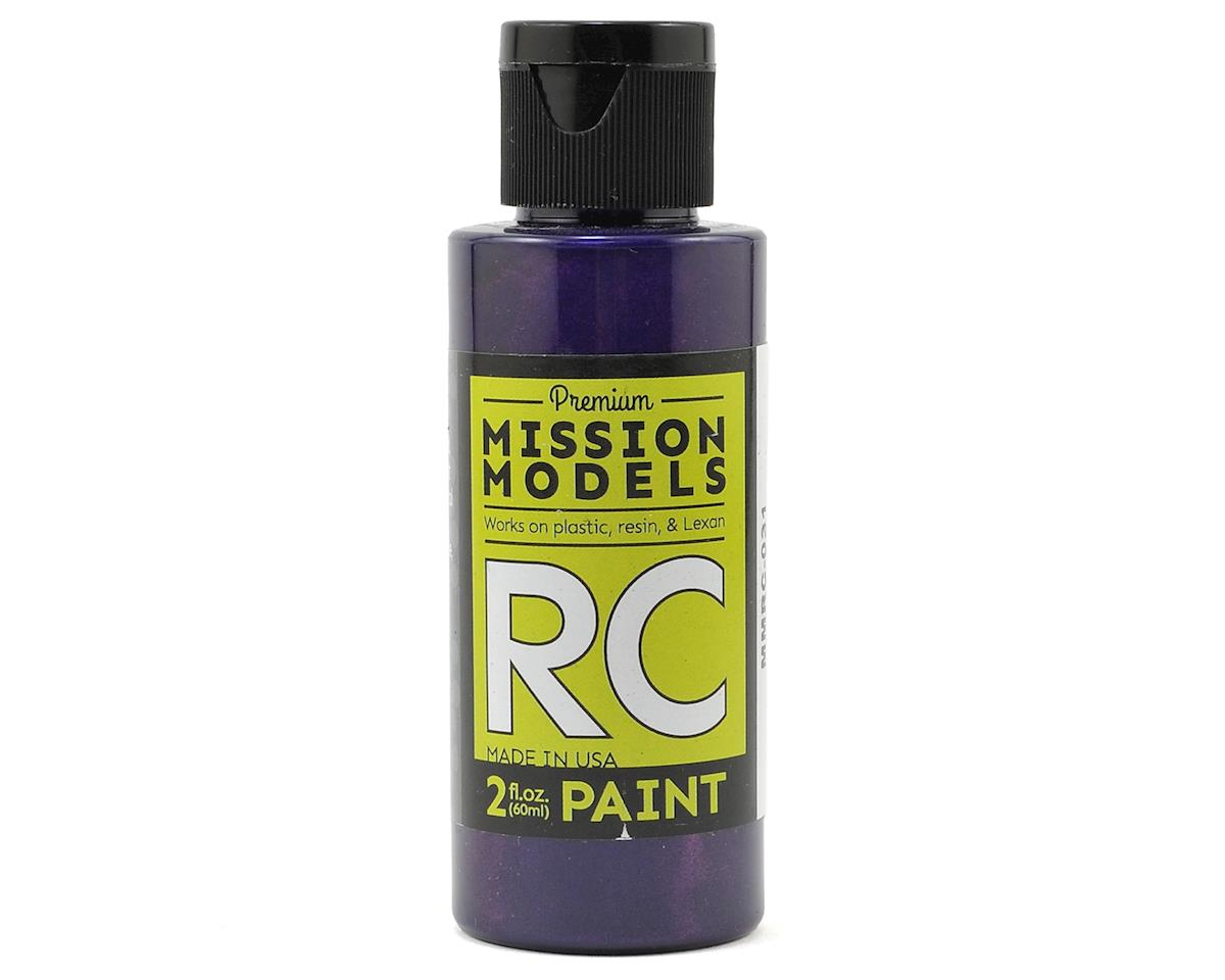 Mission Models Iridescent Purple Acrylic Lexan Body Paint (2oz)