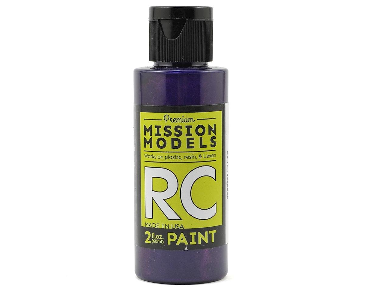 Iridescent Purple Acrylic Lexan Body Paint (2oz) by Mission Models