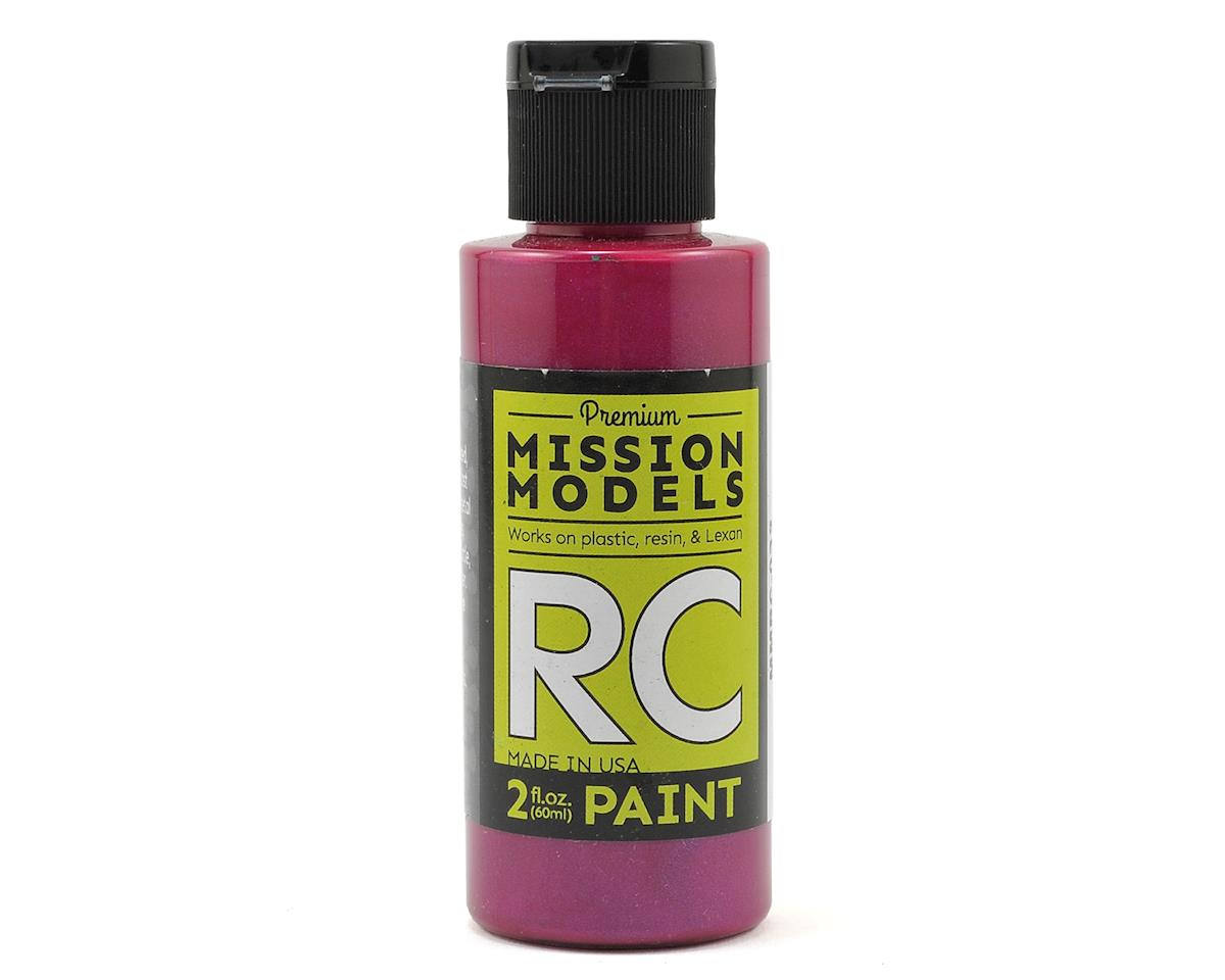 Mission Models Iridescent Candy Red Acrylic Lexan Body Paint (2oz)