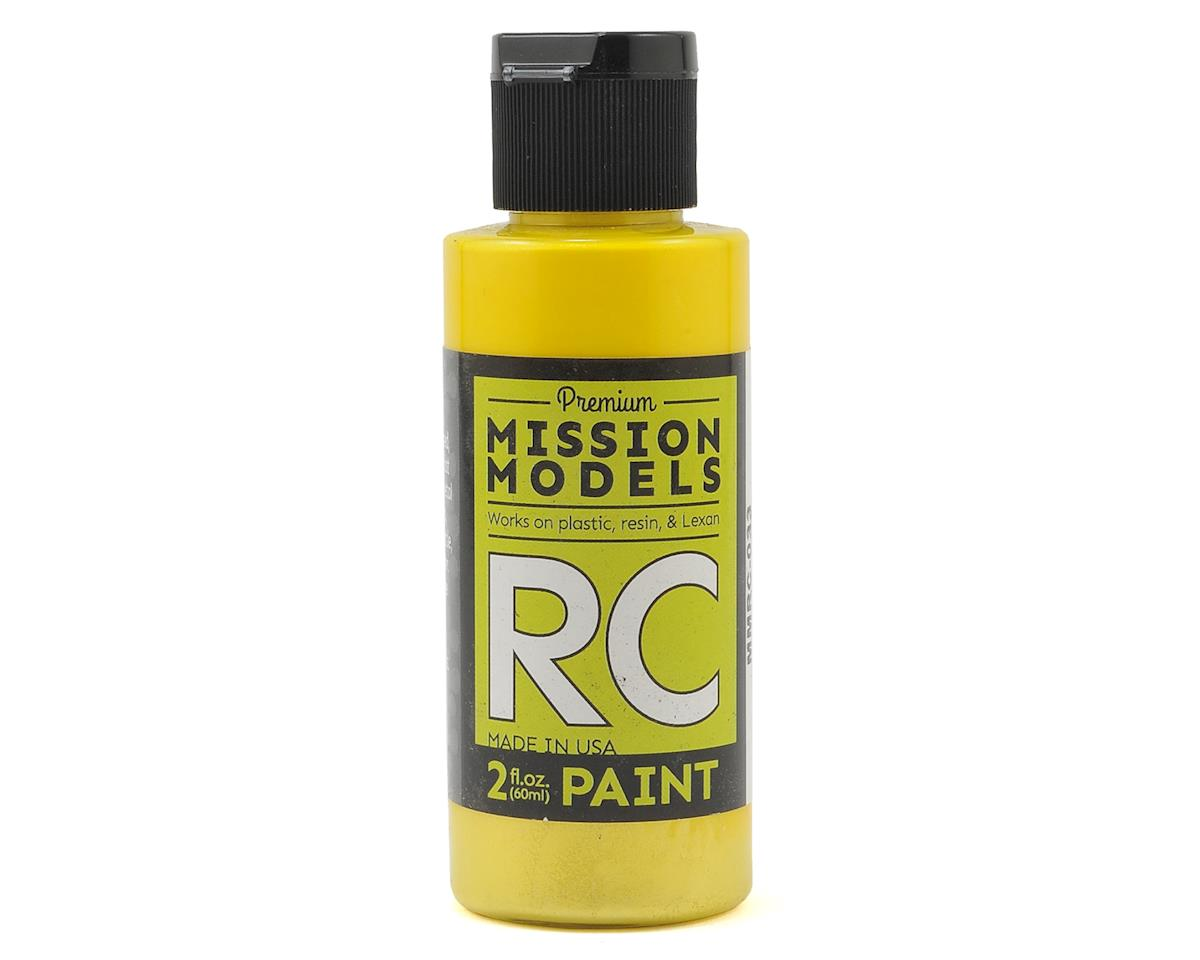 Iridescent Yellow Acrylic Lexan Body Paint (2oz) by Mission Models