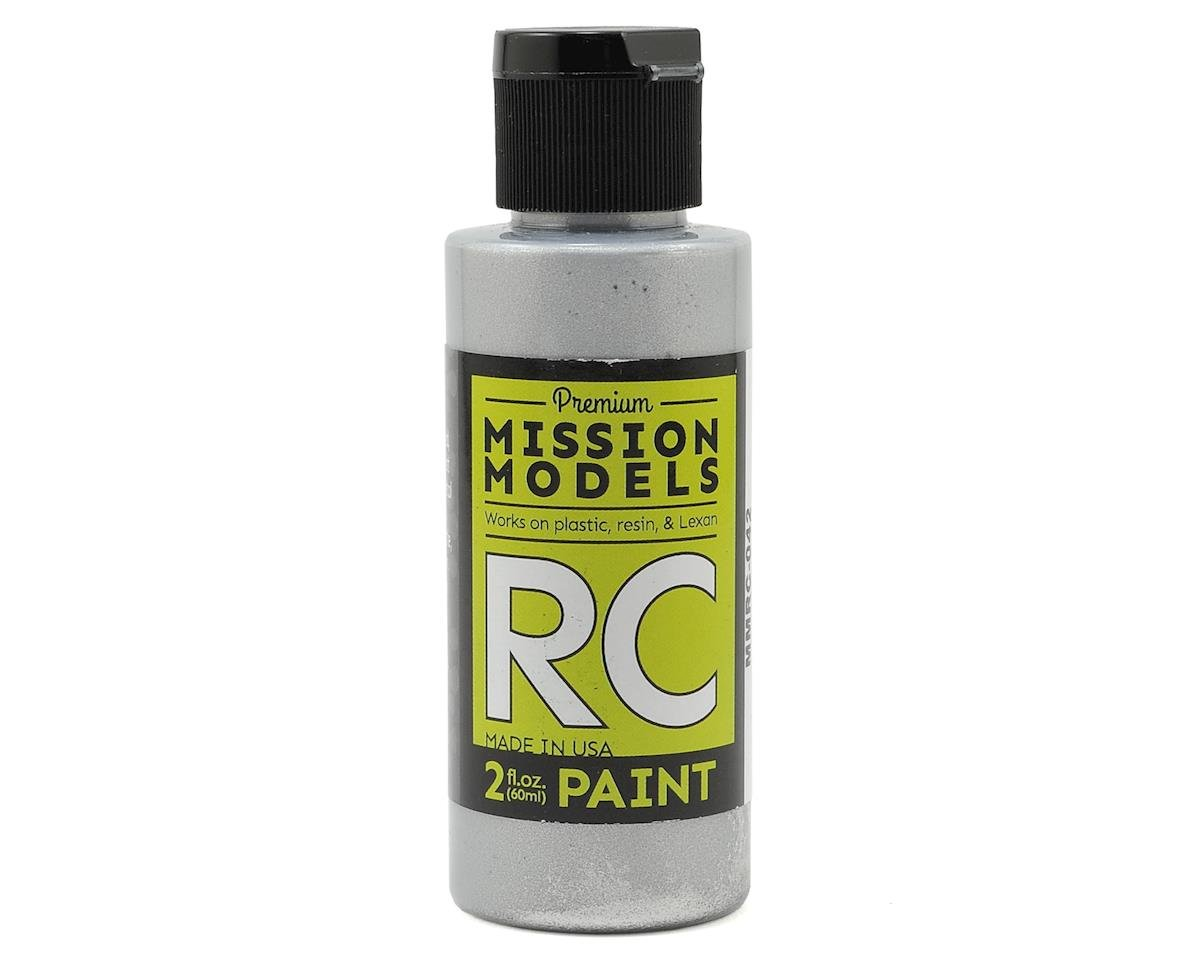 Chrome Acrylic Lexan Body Paint (2oz) by Mission Models
