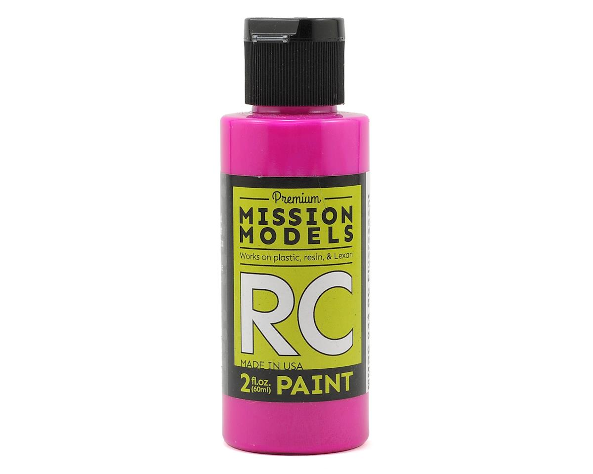 Mission Models Fluoresent Racing Berry Acrylic Lexan Body Paint (2oz)