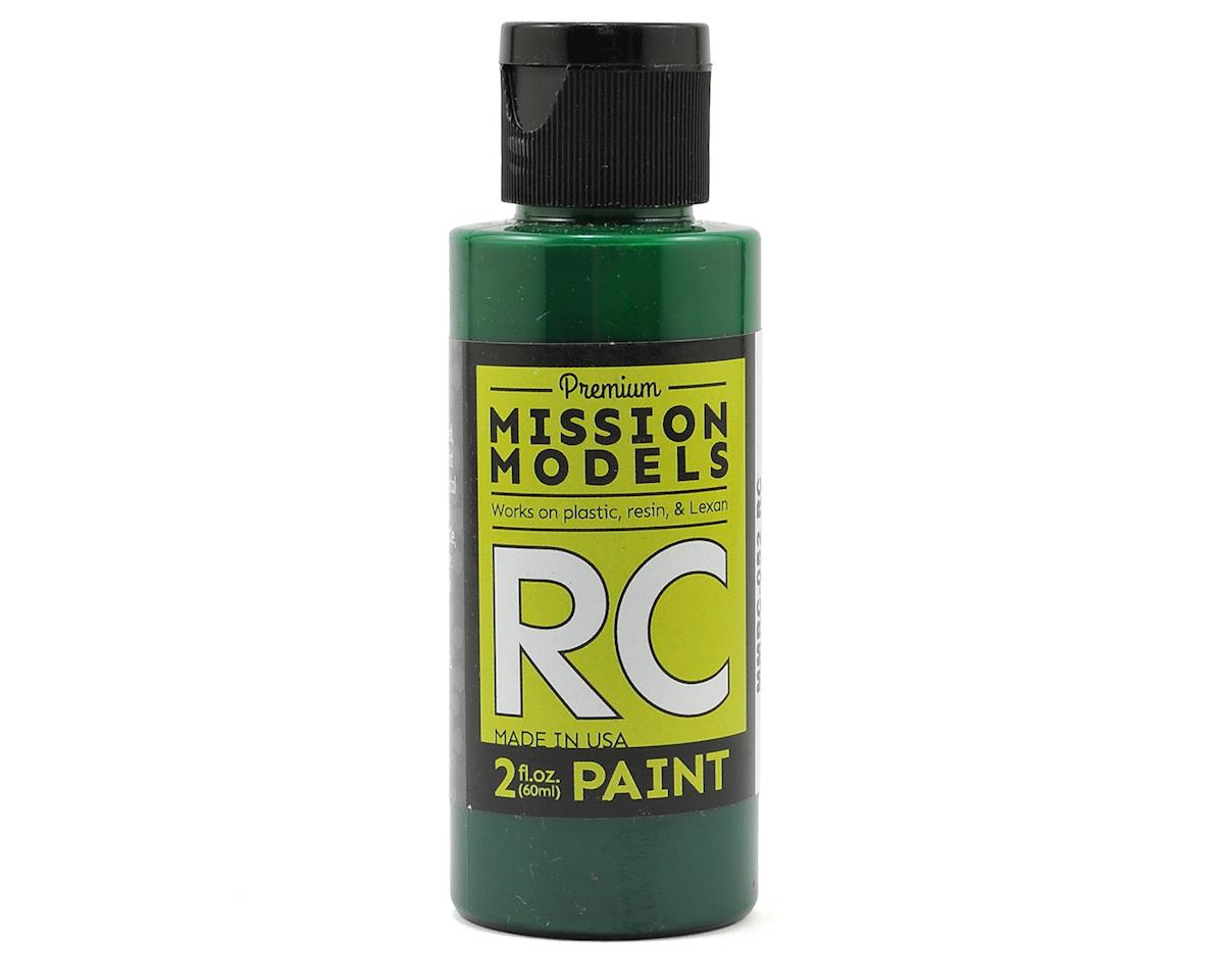 Mission Models Translucent Green Acrylic Lexan Body Paint (2oz)