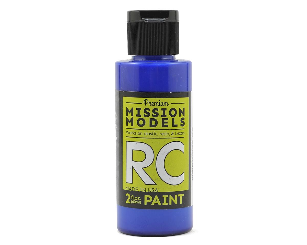 Mission Models Translucent Blue Acrylic Lexan Body Paint (2oz)