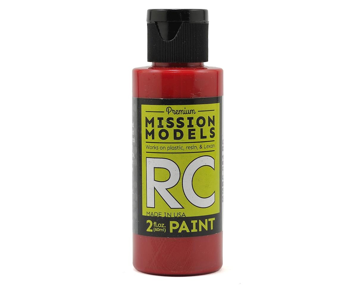 Mission Models Translucent Red Acrylic Lexan Body Paint (2oz)