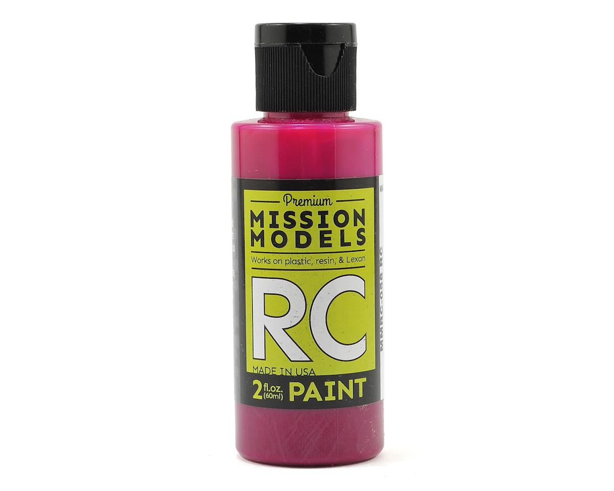 Mission Models Translucent Pink Acrylic Lexan Body Paint (2oz)