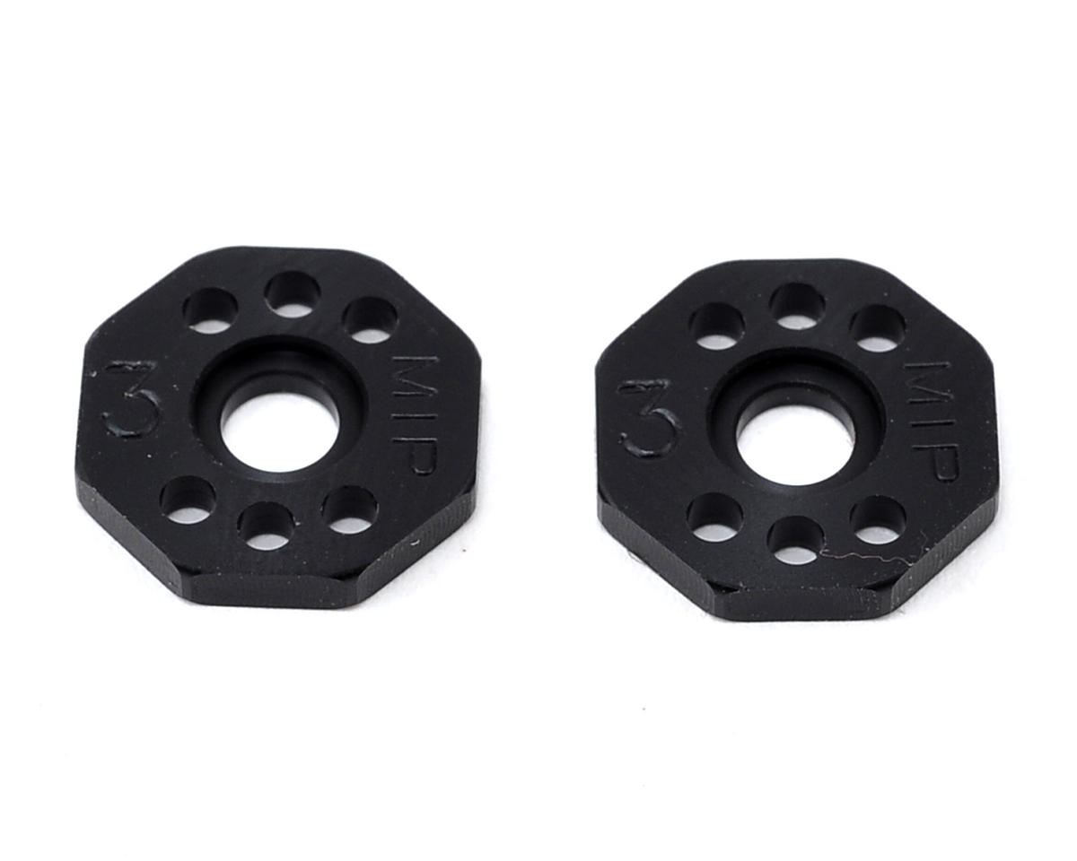 Bypass1 #3 Pistion Set (2) (13mm Bore - SC10 4x4) by MIP